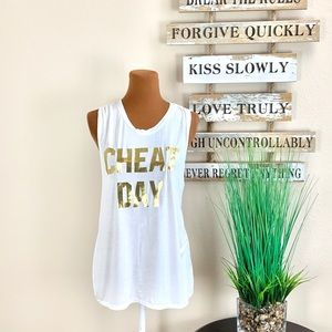 F.I.T. | Cheat Day Open Back Tank